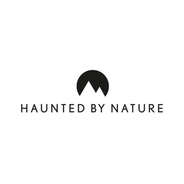 Haunted By Nature - Made in Sweden logotyp.