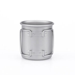 Keith Single-Wall Titanium Mug with Folding Handle 220 ml.