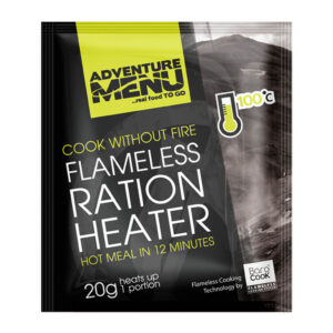 Adventure Menu Flameless Heating Pad 20 gram I förpackning.