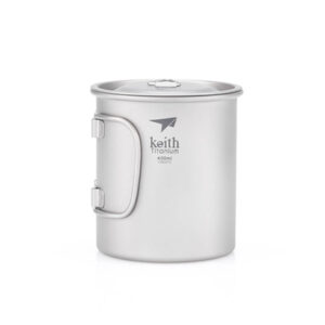 Keith Titanium Mug With Lid 400 ml.