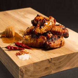 Kycklingvingar med Honung och Chili.