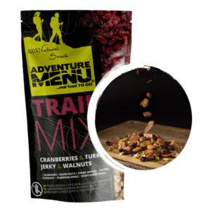 Adventure Menu Trail Mix Tranbär, Kalkon och Valnötter 50 g i förpackning.