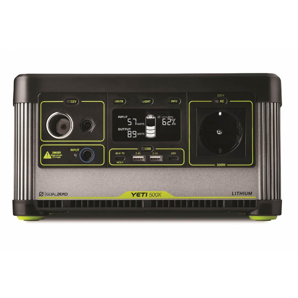 Goalzero Yeti 500x Lithium Power Portable Station.