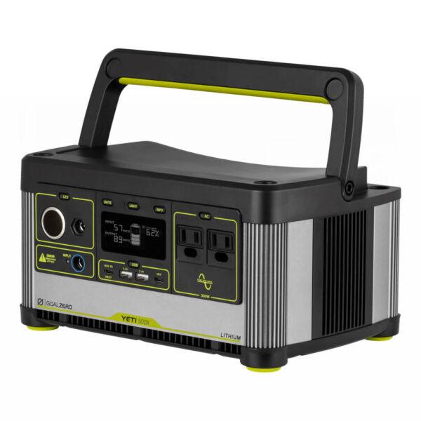 Goalzero Yeti 500x Lithium Power Portable Station med handtag.