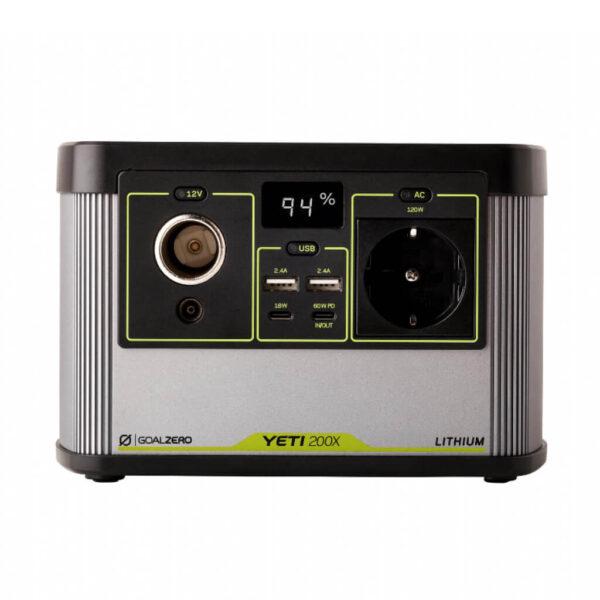 Goal Zero Yeti 200x Lithium Power Portable Station.