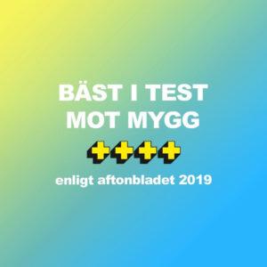 Bushman myggmedel bäst i test av Aftonbladet 2019.