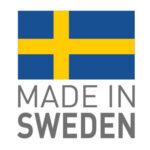 Made in Sweden - Tillverkad i Sverige logotyp.