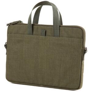 Savotta Alc Pro 13 tum grön väska med Molle / Pals för laptop eller iPad.