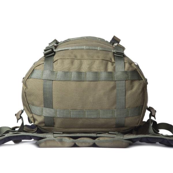 Savotta Jaakari L Grön väska med PALS / MOLLE.