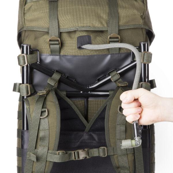 Savotta Jaakari XL Grön väska med PALS / MOLLE.